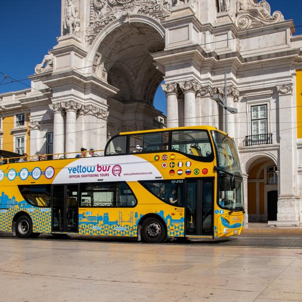 Sightseeing - bus tour hop on hop off - Lisbonne - Portugal - Extrapolitan