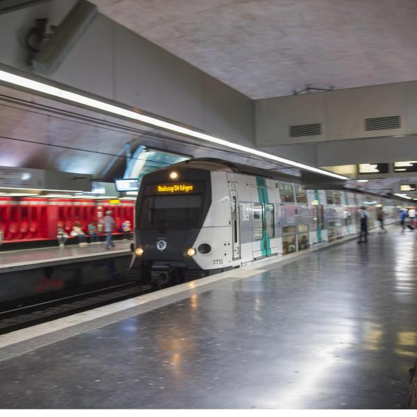 RER A RATP train Paris