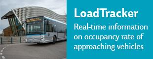 LoadTracker - real-time information on occupancy rate of approaching vehicles