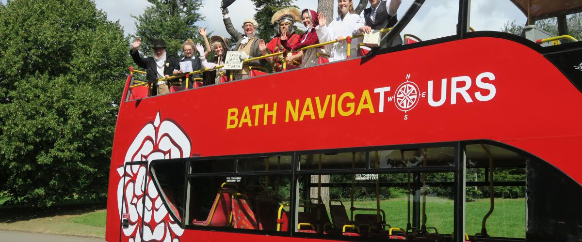 Bath Royaume-Uni Bus Sightseeing UK Navigatours Extrapolitan RATP Dev