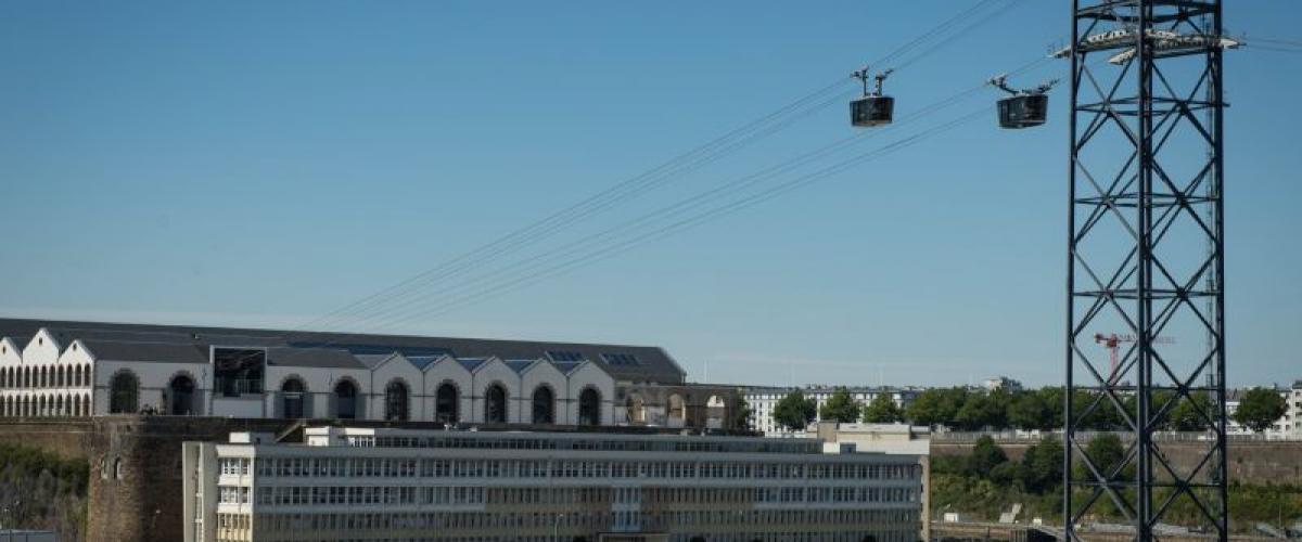 Brest - Bibus network - cable car