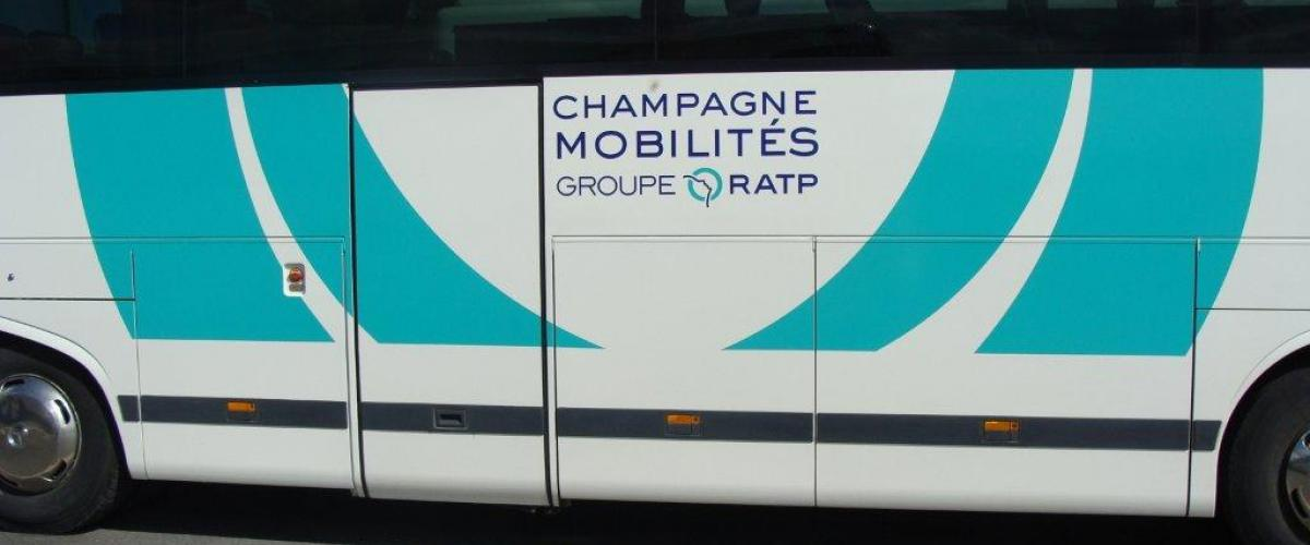 Reims France bus mobility