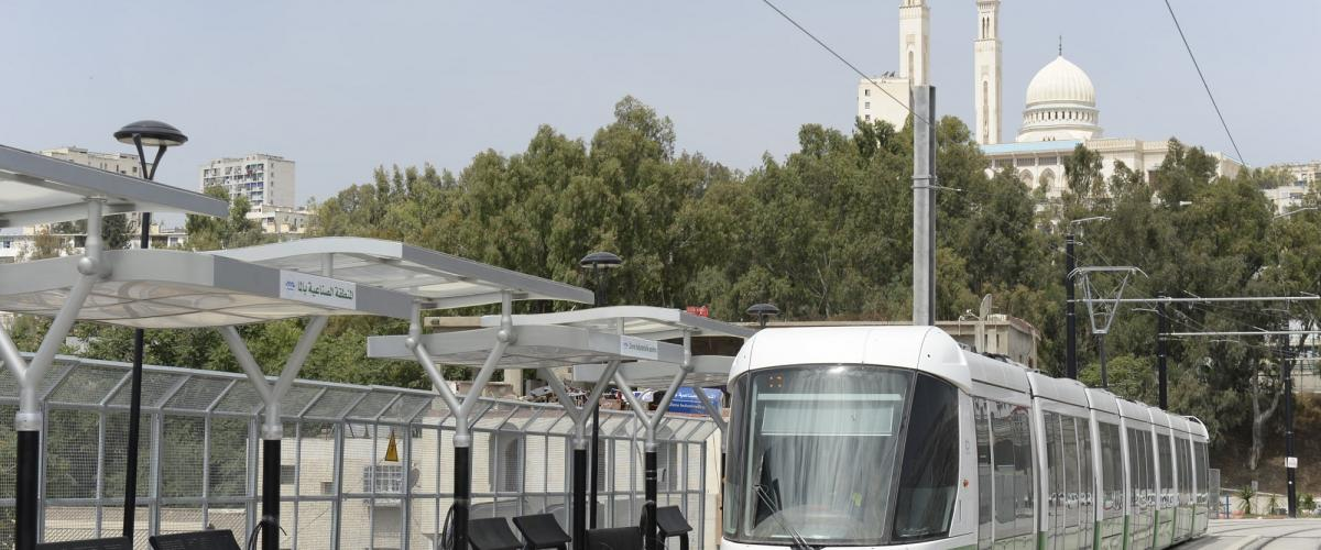 Constantine Algérie Tramway mobility