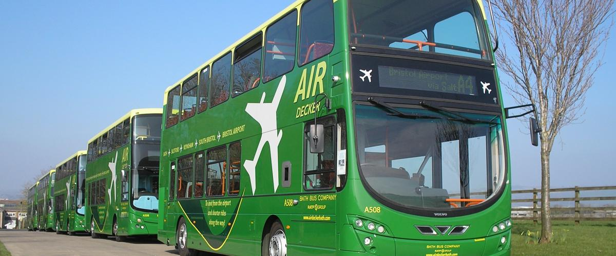 Air Decker Bath Bus Company RATP Dev UK
