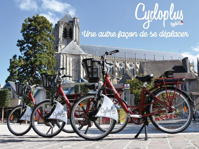 ClycloPlus - new bike rental service of STU Bourges, Agglobus, subsidiary of RATP Dev