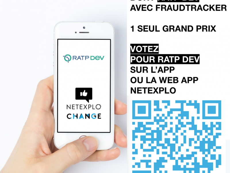 Netexplo Change 2020 - FraudTracker - RATP Dev
