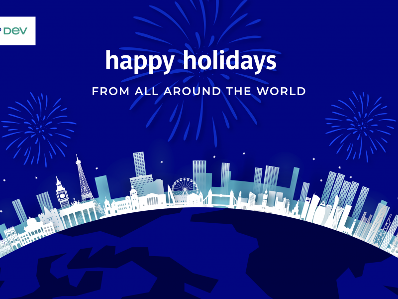 Happy holidays from around the world
